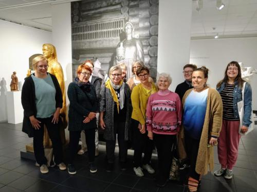 Syysretkellä Lapinlahdella, Emil Halosen taidemuseo 3.9.20.