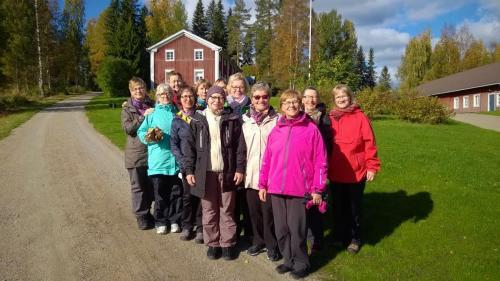 Joogatien kulkijat Suomen Joogaopistolla syyskuussa 2016